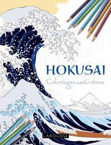 hokusai coloriages anti stress